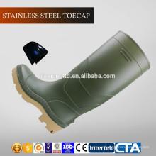 JX-AL966 CE China Eco-friendly waterproof PVC rain boots & safety shoes