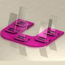 Perspex/Acrylic Mobile Phone Display Holder Plexiglass Cell Phone Rack Wholesale