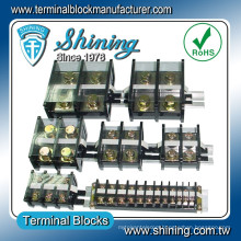 TA-200 Assembly Type 200A Din Rail Mounted 100 Pair Terminal Block