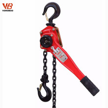 small volume high efficiency manual lever hoist trolley