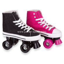 New kids roller skates with plimsolls