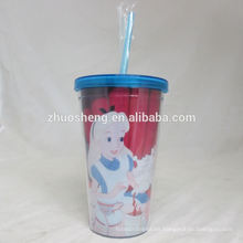 alta calidad de hermoso niños tazas plásticas duras