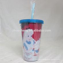 alta qualidade linda crianças copos de plástico duro