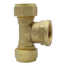 Compression Female tee compression fittings