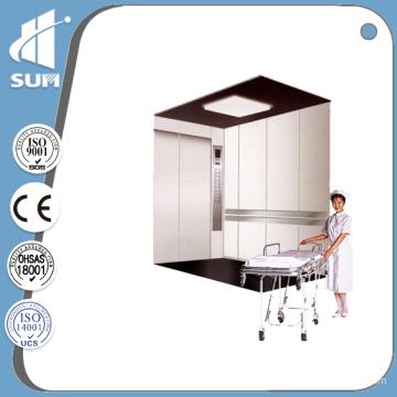 "7"" LCD Display Hairline Stainless Steel Hospital Elevator"