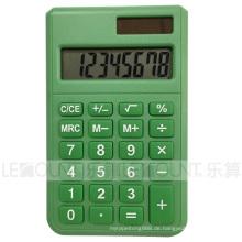 8-stellige Dual Power Taschenrechner