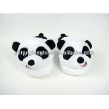 Peluche panda estilo juguete zapatillas de interior