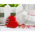 Сердце и различные комбинации блокировки