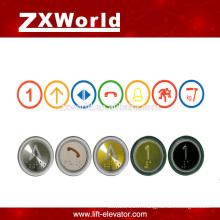 B13P4 pièces d'ascenseur bouton poussoir / bouton-poussoir pour le bouton poussoir ascenseur / ascenseur