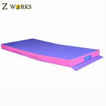 Tapis de mousse de tapis d'atterrissage de grande gymnase pour le tapis de gymnastique de musculation de forme physique