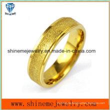 Shineme joyas de oro de moda plateado anillo de acero inoxidable (SSR2781)