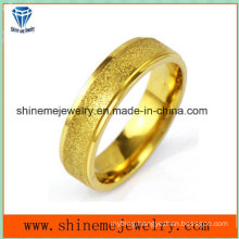 Shineme Jewelry Fashion Gold Plated Stainless Steel Ring (SSR2781)