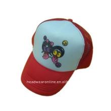 Chapéu do camionista com logotipo da impressão