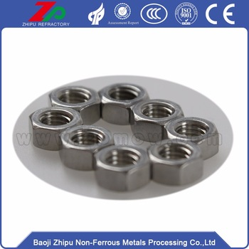 Hunting Niobium flat phillips bolt for industry