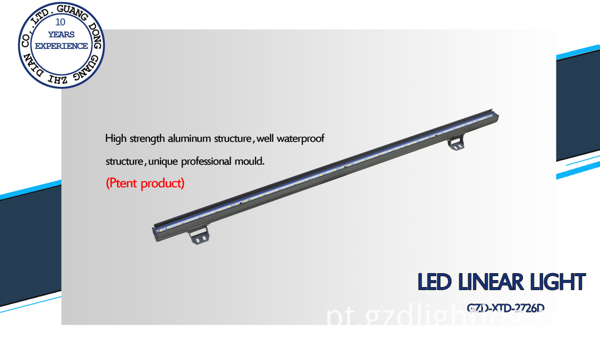 CE RoHS led rigid bar light