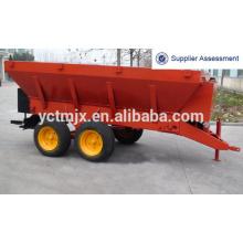 TRACTOR espalhador de estrume, espalhador de adubo Espalhador de resíduos espalhador de lixo, trator agrícola