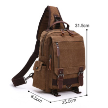 Messenger Laptop Sling Canvas Backpack