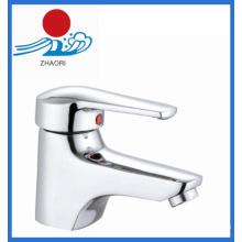 Sola manija mezclador lavabo grifo de agua de latón (zr21902)