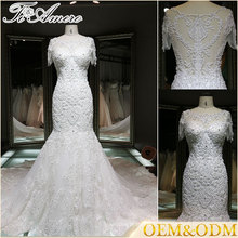 Guangzhou Chine vente en gros vente chaude femme robes de mariée sirène sexy
