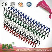 Fournitures de reliure en spirale en plastique