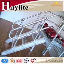 оцинкованная труба железа поручень Лестницы для крытые лестницы