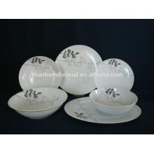 Vaisselle en porcelaine en céramique blanche de haute qualité