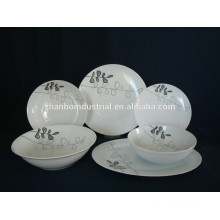 High Quality White Ceramic Porcelain Dinner ware