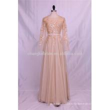 Оптом различных цветов шифон платье невесты коктейль вечернее платье с длинными рукавами