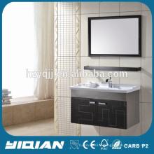 High End Style de l'hôtel Simple lavabo Salle de bain En acier inoxydable Miroir Vanité