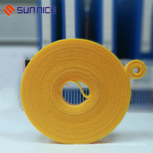 High level self adhesive hook loop cable wrap strip