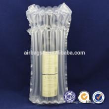 Gratis muestras ofrecer inflable burbuja amortiguador Packaging bolsas de aire para botella cóctel