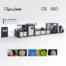(75 PCS/MIN) High Speed Machine for Make Non Woven Bags