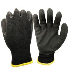 Carton de NMSAFETY faisant usage 10 doublure de polycoton de calibre enduit gants de travail de latex