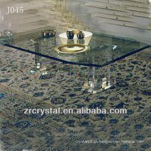 K9 Mesa de Cristal Transparente