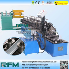 Steel cold forming equipments keel roll forming machine with high speed