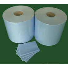 Holz Pulp Wipes Roll, Industrie Wipes