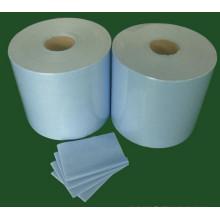 Rouleaux de lingettes de pâte à papier, lingettes industrielles