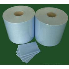 Light Blue Spunlace tecido não tecido