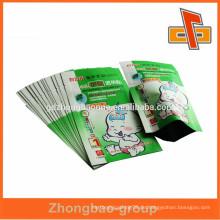 Schlussverkauf ! Laminated Taschen Kunststoff Medizin Tasche für Baby Infantile Umbilical Paste in Guangzhou