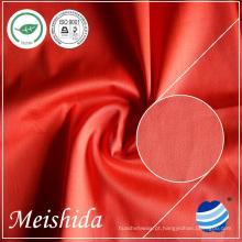 100% broca de algodão Dyeing sólido 40/2 * 40/2/124 * 52 Fabricante de tecido