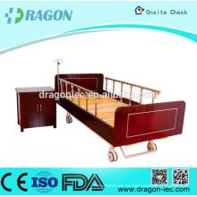 DW-BD187 Cama y armarios de enfermería manuales con 2 dimensiones de cama de hospital para el hogar