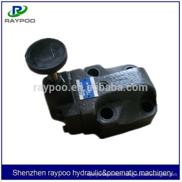 yuken bg-06 high pressure hydraulic relief valve for hydraulic injection molding machine