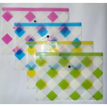 Bj-9005 Offset Print Transparent File Bag