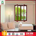 Ventana de marco abatible de aluminio de estilo sencillo y alto estándar Ventana de marco abatible de aluminio de estilo simple y alto diseño