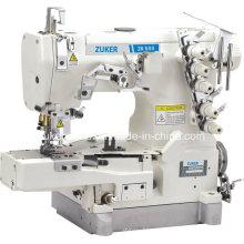 Cama plana del cilindro de Zuker Pegasus Enclavije la máquina de coser (ZK600-02BB)