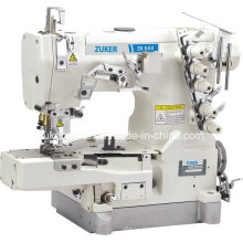 Máquina de costura (ZK600-02BB) de bloqueio Zuker Pegasus cilindro cama lisa