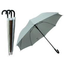 Auto aberto cor pura guarda-chuva reto (BD-30)