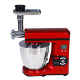 1,000W Digital Multi-functional Food Mixer with Meat Grinder, 7L Stainless Steel Bowl, Safety LockNew