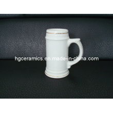 22oz Ceramic Beer Stein