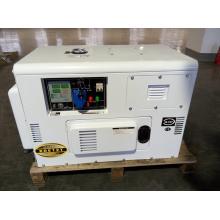 Gerador diesel silencioso da única fase 10kw do silêncio para o uso da loja (conjunto do genset de diesel)